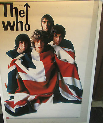 THE WHO DALTRY POSTER LIVE NEW NEVER OPENED  2005 VINTAGE