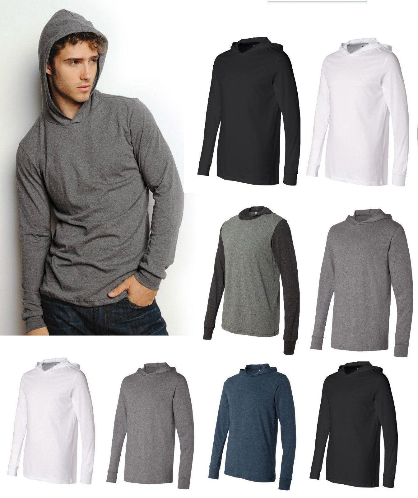 Long Sleeve T Shirt Hoodie | eBay
