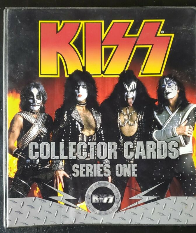 KISS Cards - cornerstone Series 1 complete Silver foil trading card set