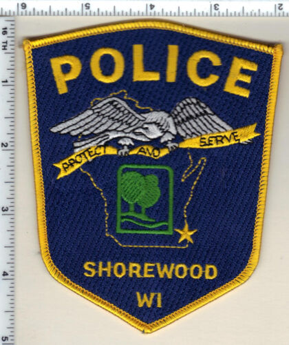 Shorewood Police (Wisconsin) 5th Issue Shoulder Patch from 1996