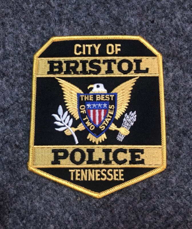 Bristol Police patch Tennessee TN