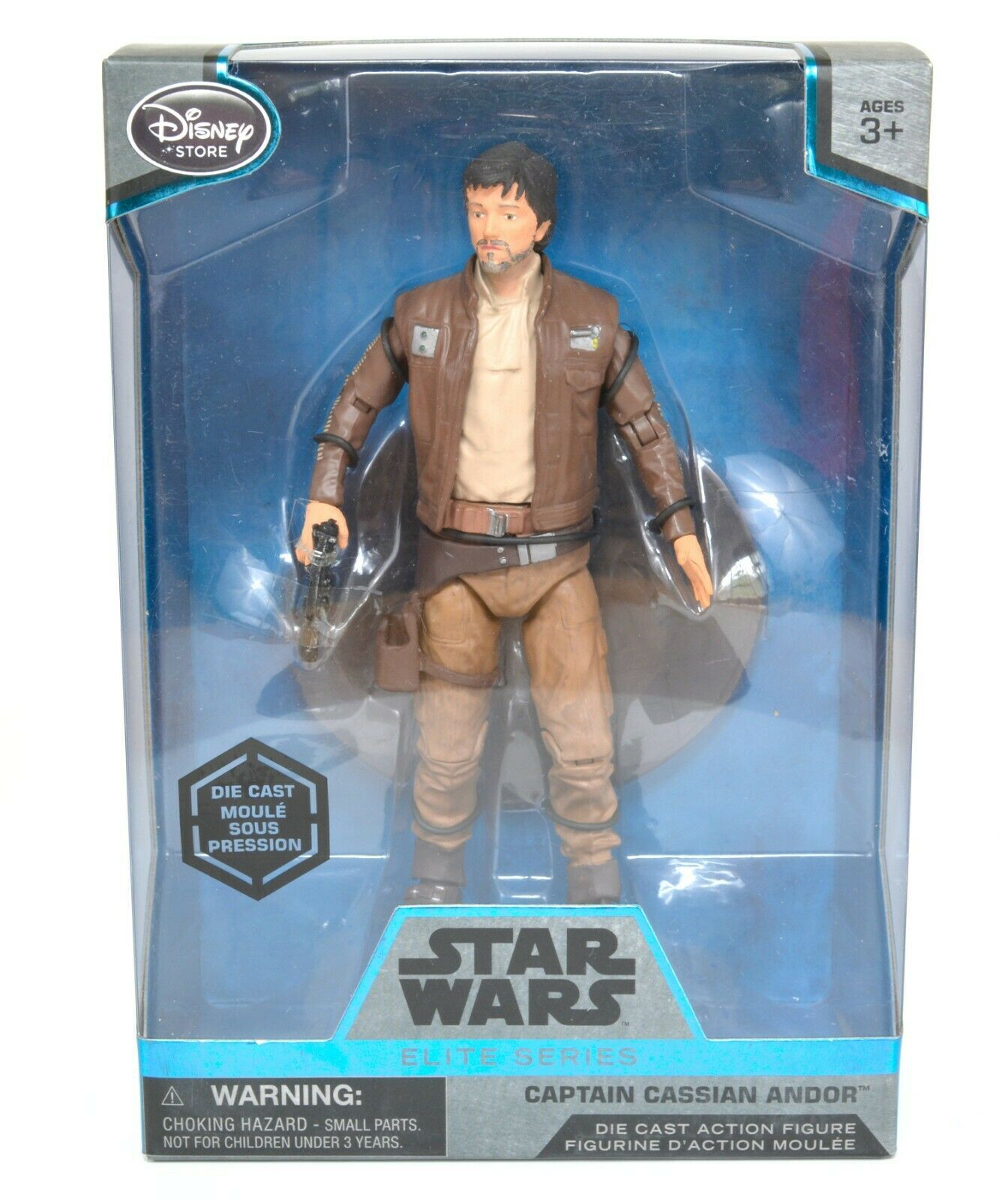 Star Wars Disney Capitaine Cassien Andor Elite Series Die Cast Figure