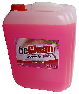 Sanitärreiniger beclean Pink 2x10l für Bad und WC Badreiniger
