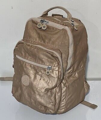 KIPLING Gold Multi Pocket Fashion Backpack