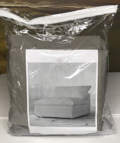 Restoration Hardware Cloud Luxe Armless Chair SLIPCOVER Wash