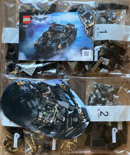 Lego 76239 DC Comics Super Heroes Batman Tumbler, ohne Figuren, ohne Karton, Neu