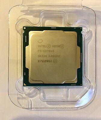Intel XEON E3-1270v6 4-Core 3.8Ghz SR326 LGA1151 E3-1270 v6