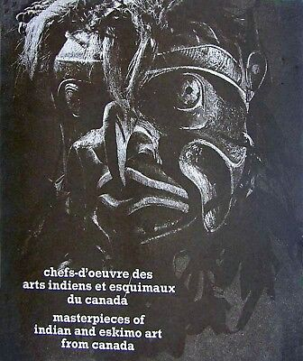 TRIBAL ART.MASTERPIECES of NORTH WEST INDIAN and ESKIMO ART from CANADA.