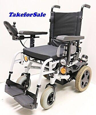 Elektrorollstuhl Sunrise Medical Samba Lite SB 45 cm Akkus neu 6 km/h TFS356 Lite Rollstuhl