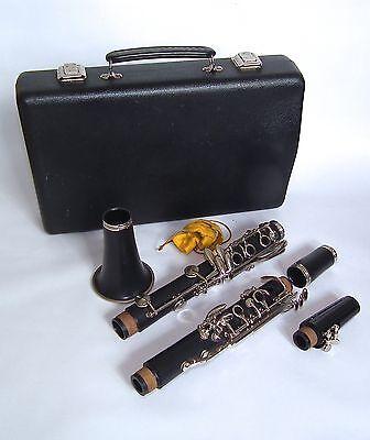 Super Mistral B5 Clarinet & Case, School Orchestra Woodwind Instrument
