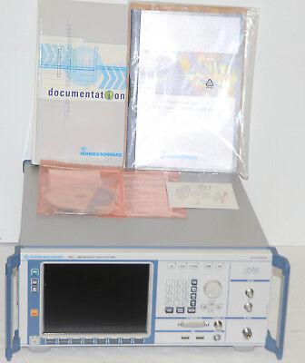 Rohde Schwarz Fsu 2110.2500.02 Broadcast Test System Wopts B4 B6 B30
