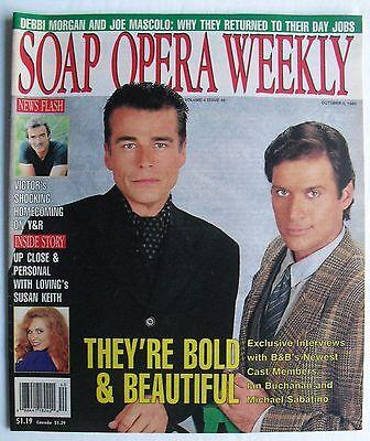 Bold   Beautiful Ian Buchanan Michael Sabatino October 5 1993 Soap Opera Weekly
