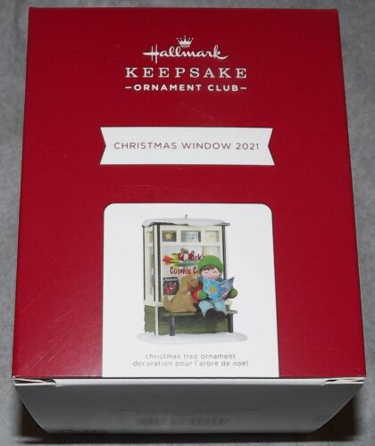2021 Hallmark Keepsake Ornament Members Club Exclusive KOC Christmas Window #19