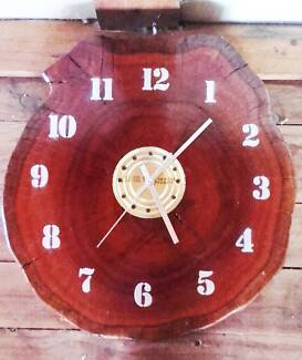 Solid Wooden Clock