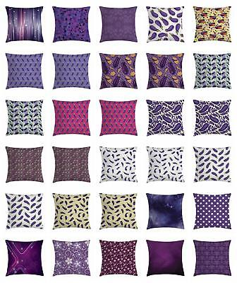 Eggplant Throw Pillow Cases Cushion Covers Home Decor 8 Size