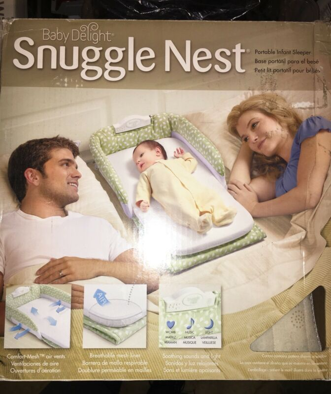 Baby Delight Snuggle Nest Portable Infant Sleeper/ Travel Bed&bassinet 0-4 Month