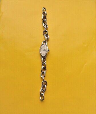 Vintage Ladies Wrist Watch, Silber-0, 835, Small Zifferblattschaden, Good