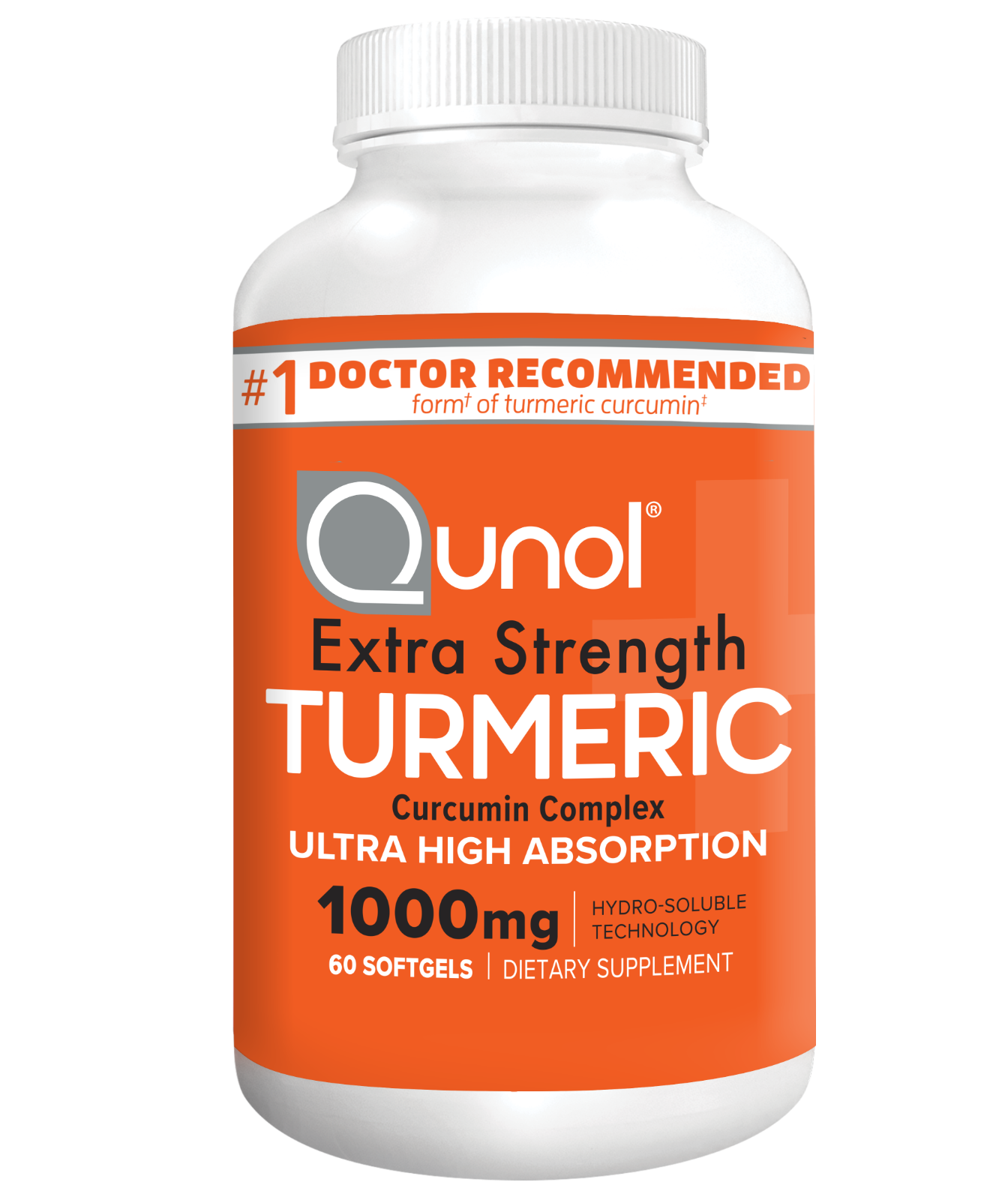 Turmeric Curcumin, Qunol Ultra High Absorption Extra Strengt