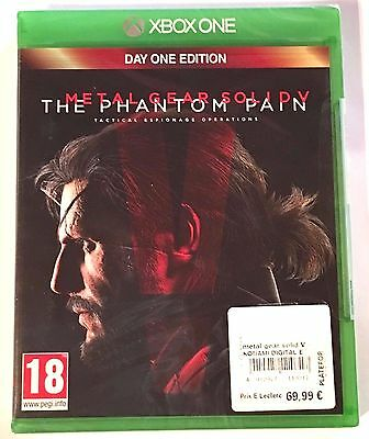 METAL GEAR SOLID V THE PHANTOM PAIN Neuf sous blister Jeu XBOX ONE