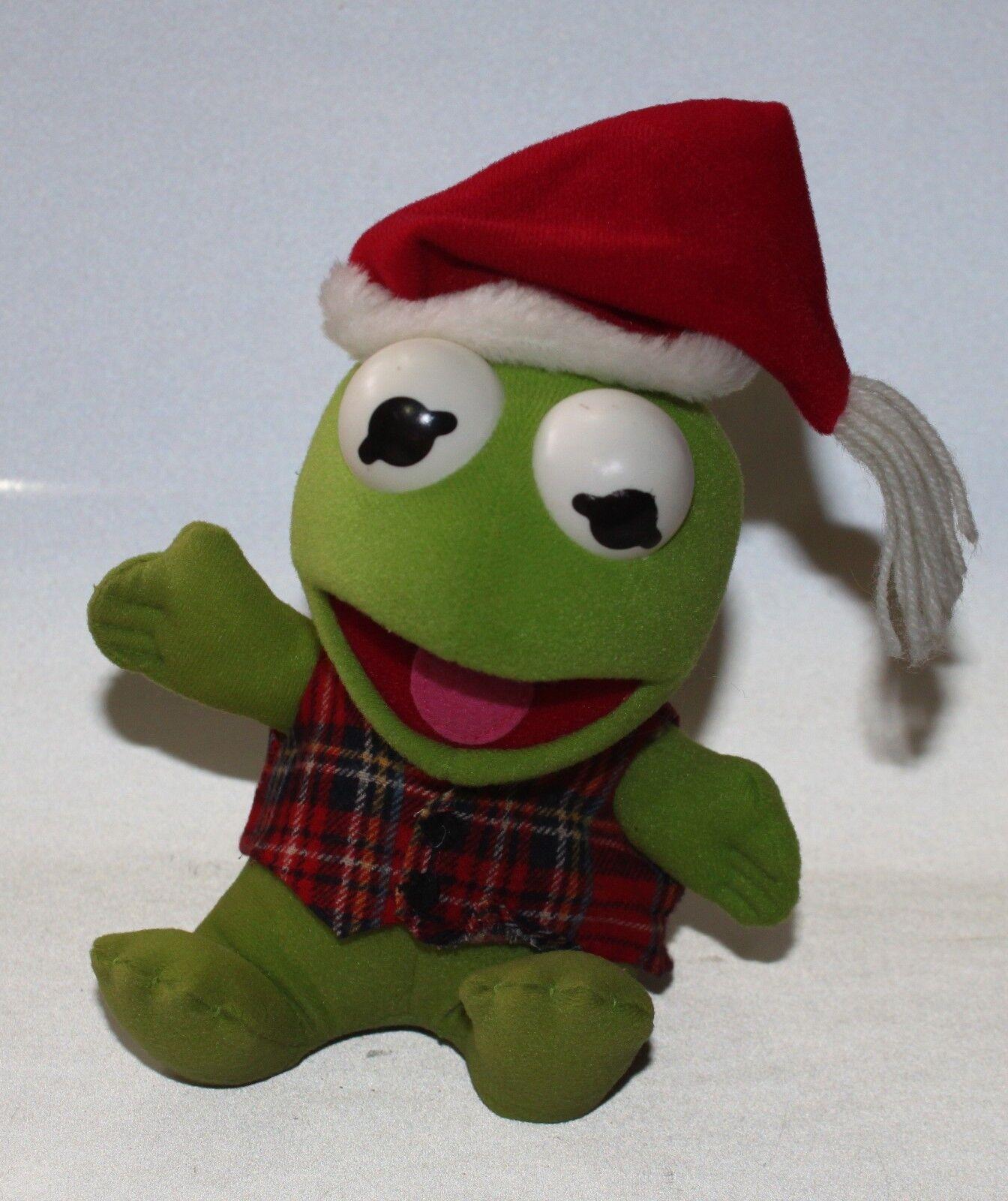 VINTAGE KERMIT THE Frog Plush Stuffed Animal Sesame Street Muppets ...