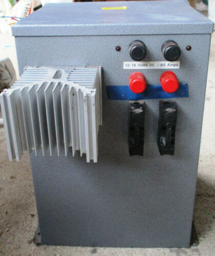 60 amp transformer rectifier power supply for pipe organ (3 phase) by A J Taylor