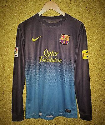 9072c79879e BARCELONA SPAIN 2012 2013 SOCCER GOALKEEPER FOOTBALL SHIRT JERSEY SIZE M