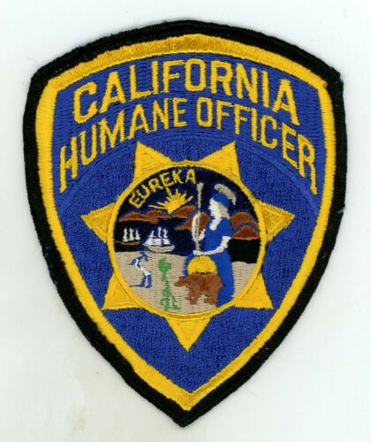 California State Humane Officer