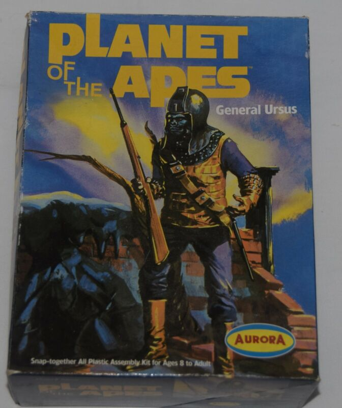 General Ursus Planet Of The Apes Model Kit Opened/Comp. - Aurora #6806 From 2000