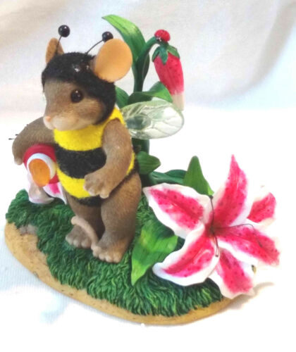 "Charming Tails ""Bee My Honey"" (Mouse) [Retired]"