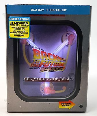 NEW BACK TO THE FUTURE THE COMPLETE ADVENTURES BLU RAY LIGHT UP BOX - Halloween Next Movie