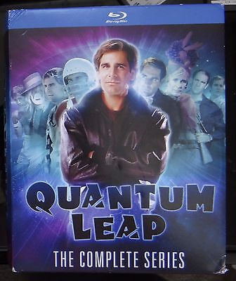 Quantum Leap: Complete Series (Blu-ray)-CD'S LIKE NEW BUT CASES ARE BROKEN