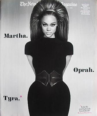 Tyra Banks June 1  2008 New York Times Magazine