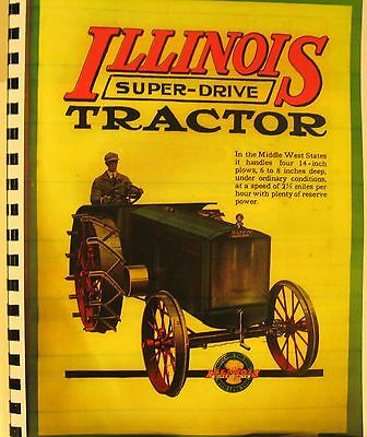 ILLINOIS Super-Drive Tractor Sales Book-The Tractor That Every Farmer Wants!!, used for sale  Shipping to India