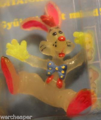 VINTAGE WHO FRAMED ROGER RABBIT PVC FIGURE GLOW IN THE DARK BULLY KNOCKOFF MIP (Rabbit Glow In The Dark)