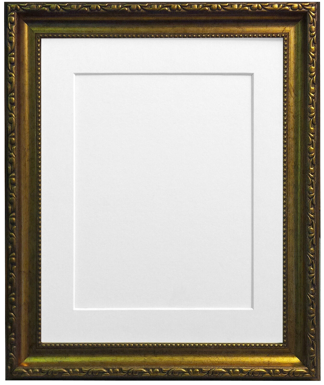 Shabby Chic Gold Photo Pictures Frames With a Selection of Coloured ...