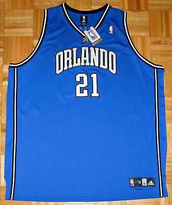 Orlando Magic Jersey Adidas NBA Custom Cookie Monster 21 MNSTAR Blue Size 60 New