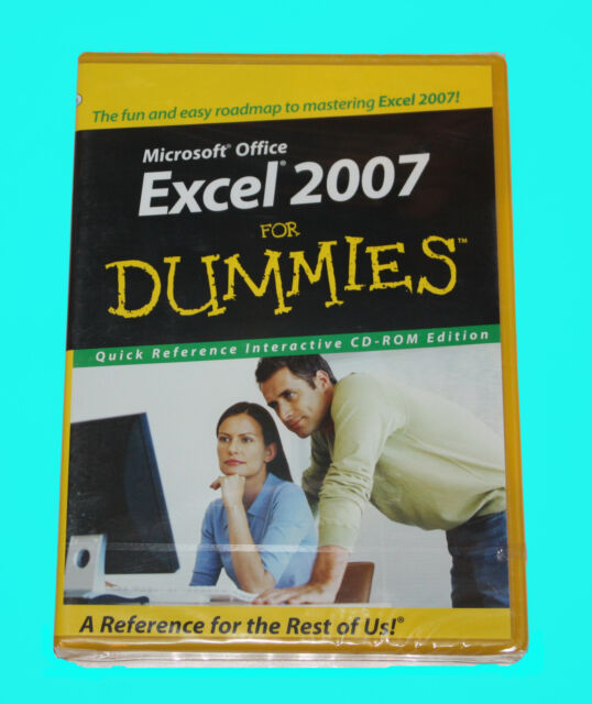 MICROSOFT OFFICE - EXCEL 2007 FOR DUMMIES  - NEW IN SEALED BOX