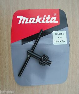 MAKITA-1cm-10mm-LLAVE-DE-PORTABROCAS-AJUSTE-6510PB-DA3000D-DA3010-DA3010F-DA301D