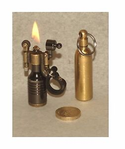 Trench Art Fluid Refillable Lighter & Fuel Top Up Canister