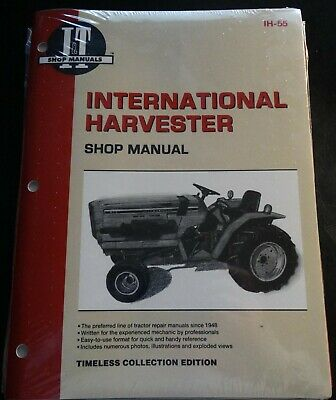 It International Harvester Tractor Service Manual 234 244 254 New Ih-55