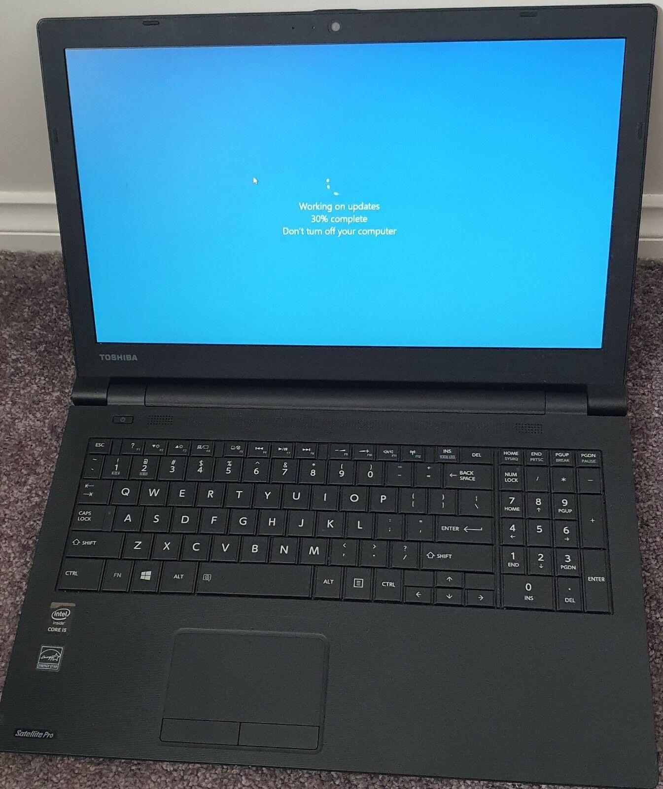 Laptop Windows - Toshiba Satellite Pro R50-B Laptop i5  | 240GB SSD | 8GB RAM | Windows 10 Pro