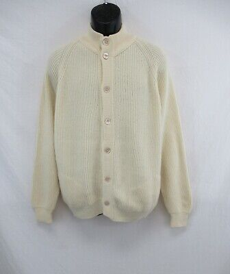 """MALO Cashmere 100% Cashmere Button Front Cardigan Made in Italy Size 48"""" #CAS796"""