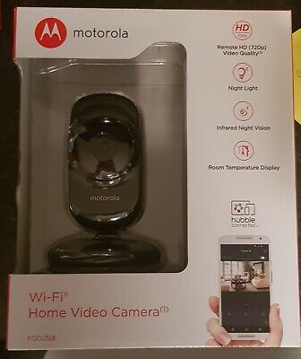Motorola Wi-Fi Home Video Camera - Focus68 - BLACK tracked delivery!!