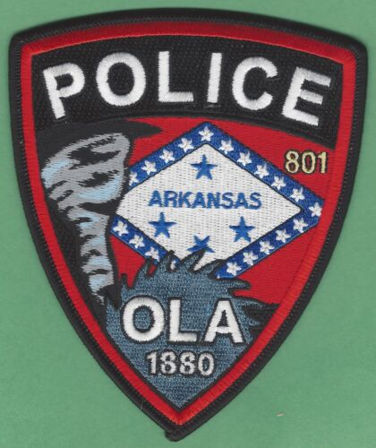 OLA ARKANSAS POLICE SHOULDER PATCH