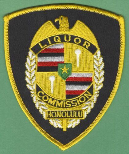 HONOLULU HAWAII LIQUOR COMMISSION ENFORCEMENT SHOULDER PATCH