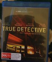 Complete Season 2 of HBOs hit series TRUE DETECTIVE Blu-Ray Dulwich Hill Marrickville Area Preview