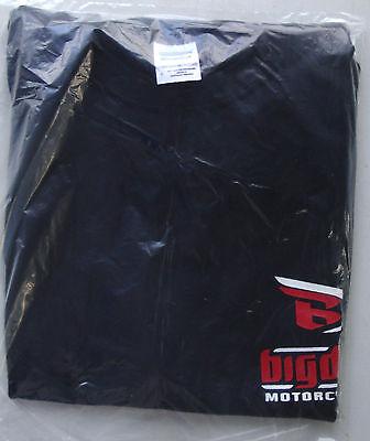 T-shirt Big Dog motorcycle short sleeve size medium 100% cotton black