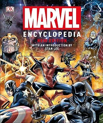 Marvel Encyclopedia New Edition HARDCOVER by Stan Lee Comics & Graphic Novels