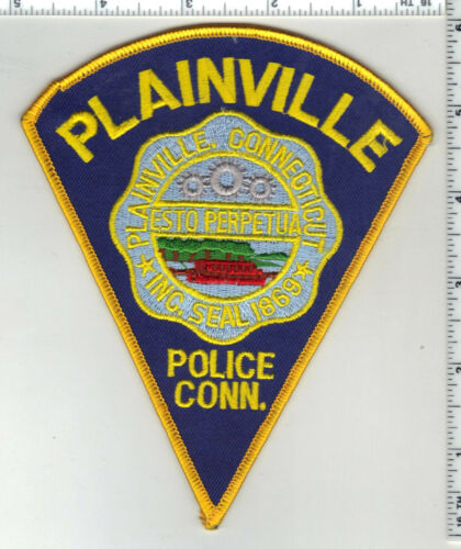 Plainville Police (Connecticut) 3rd Issue Shoulder Patch
