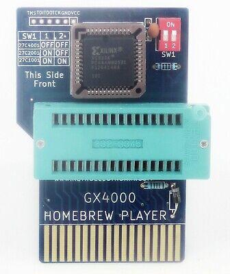 GX4000 Homebrew Player Zif Socket Adaptador Eprom Gusanos De Cartucho